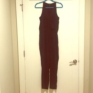 AQUA BLACK JUMPSUIT WORN ONCE